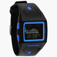 Nixon The Lodown Watch Black/Blue One Size For Men 24945318401