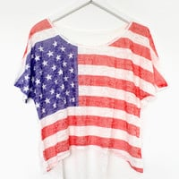 Burnt-Out America Tee | BATOKO