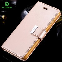 For iPhone 6 / 6 Plus Wallet For iPhone 7 7 Plus Flip Leather Case For iPhone 6 6S 6 / 6s Plus Wallet Card Slot Cover