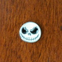 Jack Skellington Nightmare Before Christmas Floating Charm for Glass Living Lockets