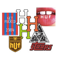 HUF STICKER PACK