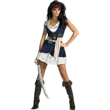 Women's Costume: Sassy Jack Sparrow | Medium