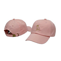 Komerly-PP Unisex Adjustable Fashion Leisure Baseball Hat Drake Ovo Snapback Dual Colour Cap