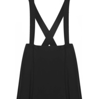 Black Crepe Strappy Pini - Dresses - Clothing - Topshop
