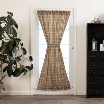 Sawyer Mill Plaid Door Panel Curtain