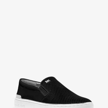 Kyle Perforated Suede Slip-On Sneaker | Michael Kors