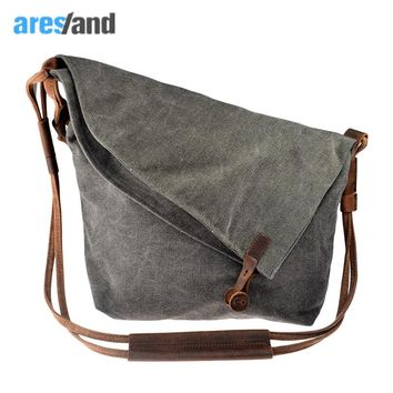 canvas shoulder bag women Casual Crazy Horse Leather Crossbody Bags women's bags Shouder Bag Ladies Bolsa Feminina Bolsas