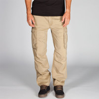 Levi's Ace Mens Cargo Pants Harvest Gold  In Sizes