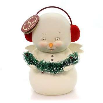 Christmas Snowpinions Decorating Tree Christmas Figurine