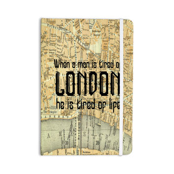 "Alison Coxon ""London Type"" Map Everything Notebook"