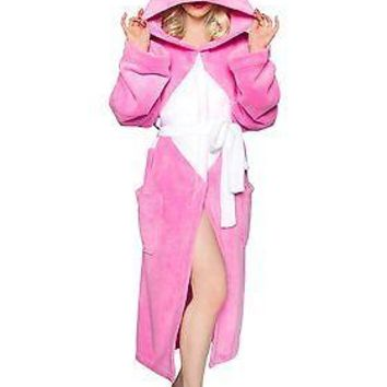 Power Rangers Pink Ranger Hooded Robe w/ Mesh Mask