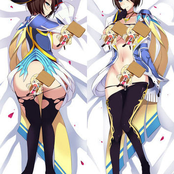 New  League of Legends Royal Guard Fiora Anime Dakimakura Japanese Pillow Cover ADP-3094