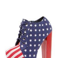 Brooklyn American Flag Shoes