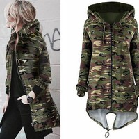 ac PEAPON Print Camouflage Jacket [114361794585]