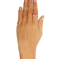 Love Midi Ring Set - WetSeal