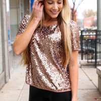Shimmer and Shake Top
