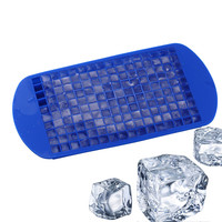DIY Creative Small Silicone Ice Cube Tray 160 Grids
