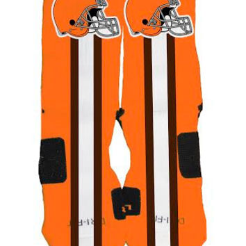 Cleveland Browns Custom Nike Elite Socks