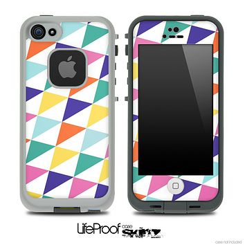Cubed V3 Fun Color Pattern Skin for the iPhone 5 or 4/4s LifeProof Case