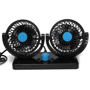 360 Rotating Free adjustment Car Auto Cooling Air Fan