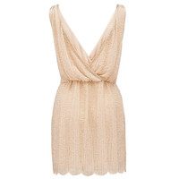 Karla embellished wrap back dress - Forever New