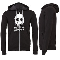 Dr. Who Are you my Mummy Zipper Hoodie