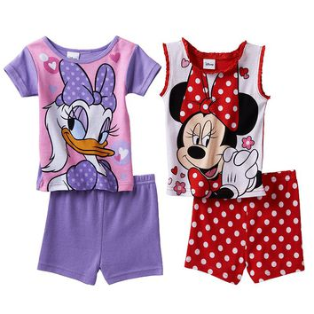 Disney's Minnie Mouse & Daisy Duck Pajama Set - Toddler Girl, Size: