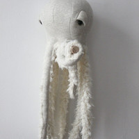 Small Grandpa Octopus <O> Stuffed Animal <O>  Plush Toy