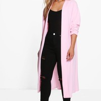 Plus Bella Waterfall Duster Coat | Boohoo