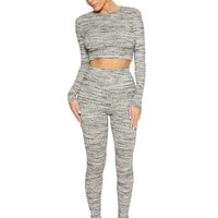 Fall Into The Grey Set - Sets - Womens