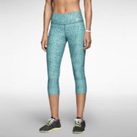 Nike Legend 2.0 Tight Mezzo Women's Training Capri Pants Size XL (Green)