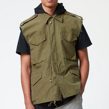 FOG - Fear Of God Army Parker Vest at PacSun.com