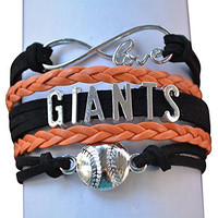 San Francisco Giants Jewelry, SF Giants Bracelet Makes Perfect Baseball Fan Gift