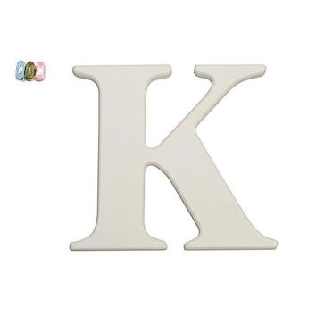 "Babies""R""Us K Wooden Personalizable Letter Wall Decor"