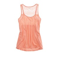 Aerie Lace Racerback Tank | American Eagle Outfitters