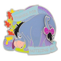 Disney Parks Eeyore Thanks for Noticing Me Pin New with Card