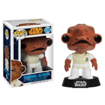Star Wars Admiral Ackbar Pop! Vinyl Bobble Head : Forbidden Planet