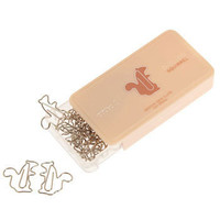 Squirrel Away Your Paperclips | Mod Retro Vintage Stationery | ModCloth.com
