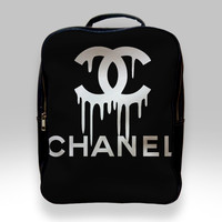 Backpack for Student - Coco Chanel Logo Bags