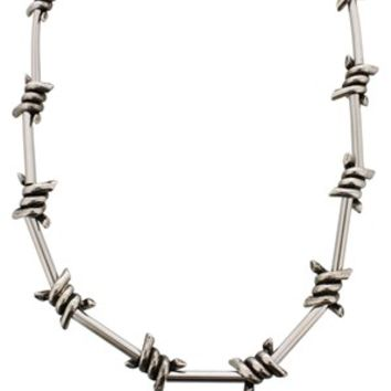 Queen of Darkness Barbed Wire Necklace - Buy Online at Grindstore.com