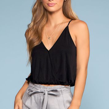Vacay All Day Top - Black