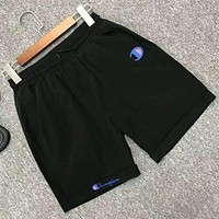 Champion Summer Men Casual Sports Running Shorts Black