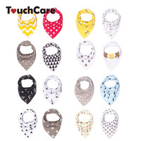 4Pcs/Lot 10 Styles Baby Burp Bandana Bibs Cotton Soft Kids Toddler Triangle Scarf Bib Cool Accessories Infant Saliva Towel