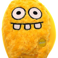 "Yellow Rocket Head Pillow Color LED Light Up Flash Plush 10"" Microbeads Decor"