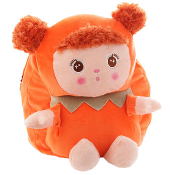 Lovely Mousse Dolls Toddler Backpack Infant Villus Knapsack Cute Baby Bag 1 - 3Y