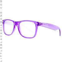 Purple Lightshow Glasses Purple Lightshow Glasses Purple One-Size