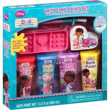 Disney Doc McStuffins Bath Time Paint Set, 7 pc - Walmart.com