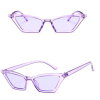 Colorist Cat-eye Sunglasses - Purple