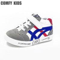 2017 Spring autumn leather child sneakers shoes baby girls boys sports shoes baby toddler boots shoes comfy kids boots shoes