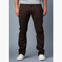 {True Grit} Relaxed Slim Jeans in French Roast